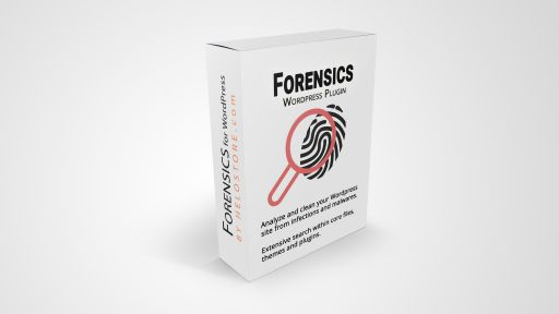 Forensics plugin for WordPress